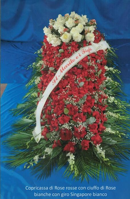 Fiori rossi - Gesa Impresa Funeraria Internazionale